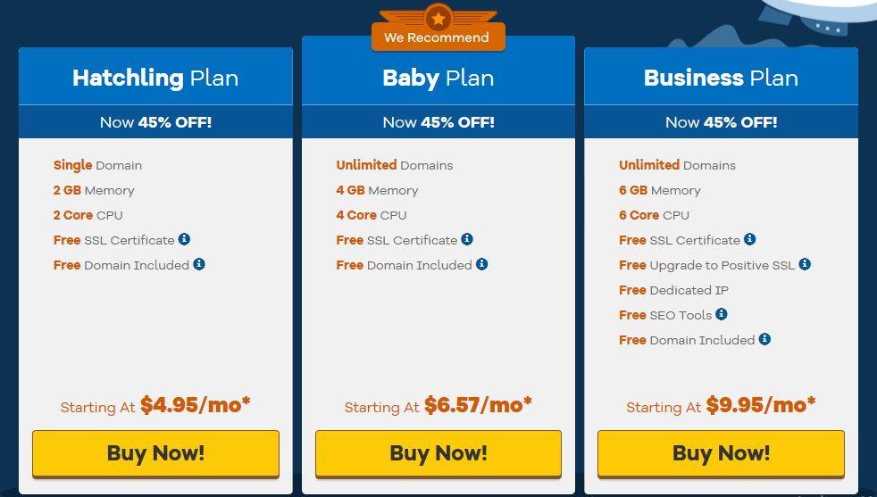Hostgator cloud hosting