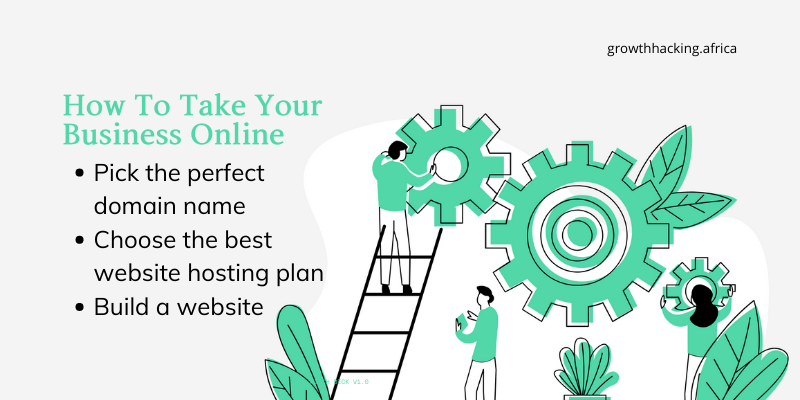 How to take your business online with a website